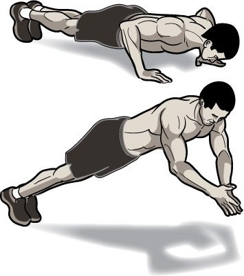 explosive push-up
