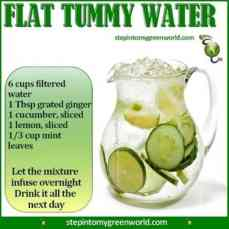 Drink water -- an Easy Fat-Busting Tips