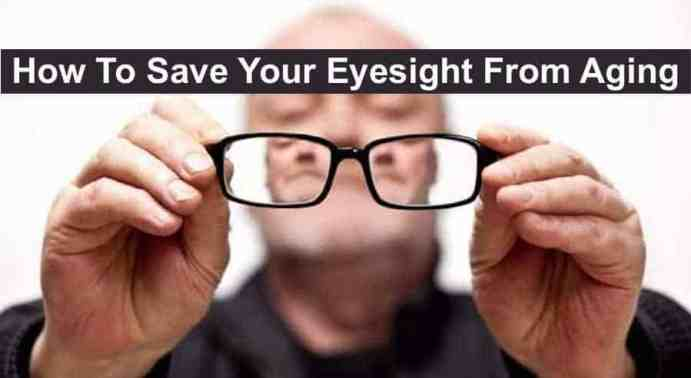 save your eyesight