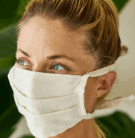 A reusable antiviral face mask is a good investment in your health.