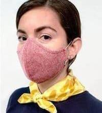 Wearing a reusable antiviral face mask makes a lot of sense when in public.