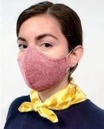 reusable antiviral face mask
