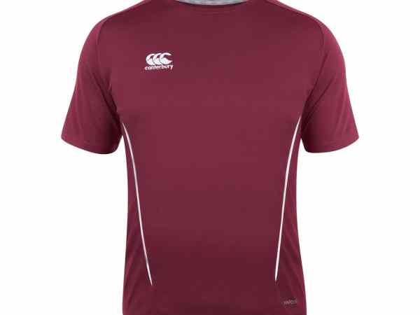 canterbury team dry short sleeve t-shirt