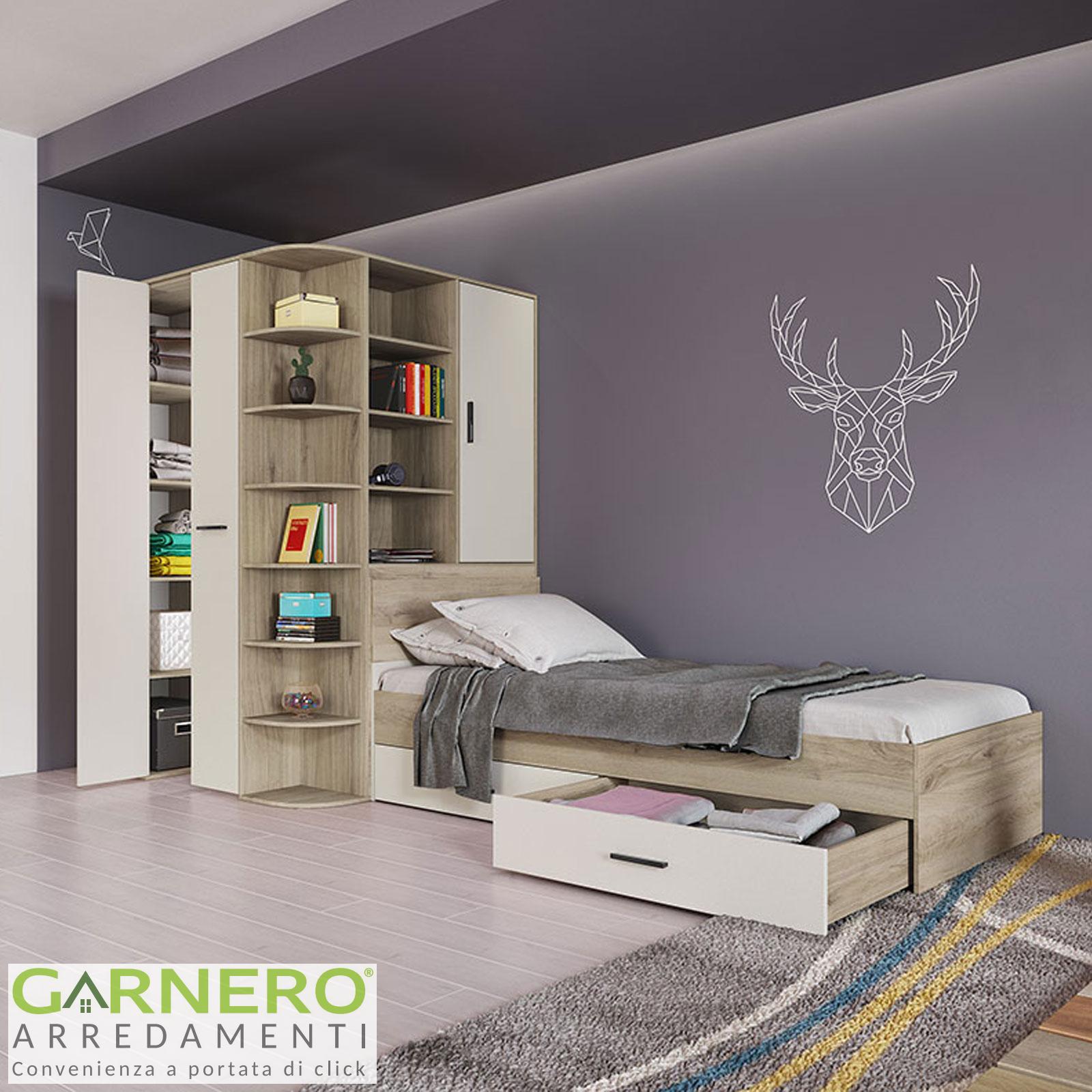 Decorazione camera da letto per una ragazza di 15 anni (video). Cameretta Cabina Armadio Fabio Gihome Moderna Rovere Panna Bambini Ragazzi Ebay
