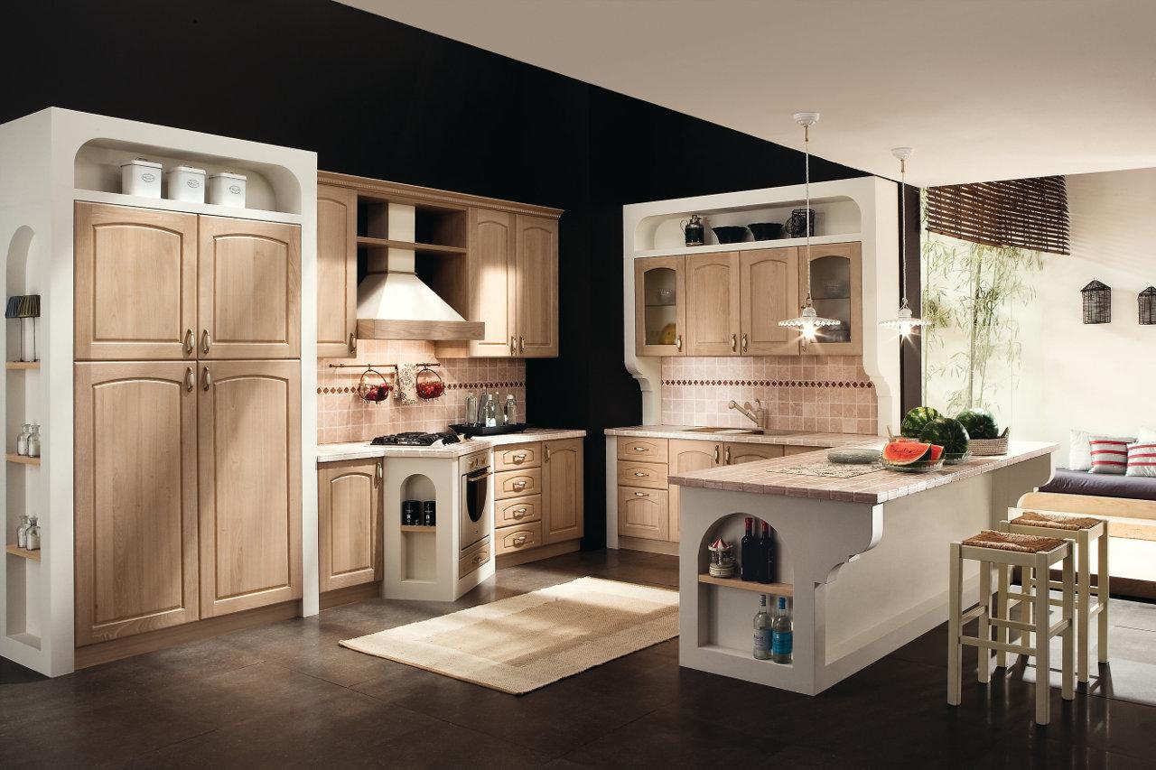 Cucina finta muratura Clarissa Garnero design