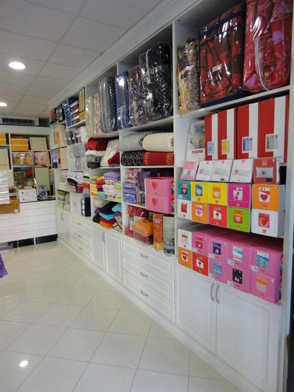 Arredamento negozio di biancheria Garnero design