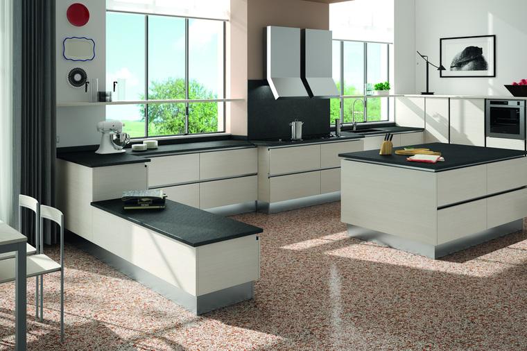 Cucina Moderna con Isola Cooney Garnero design
