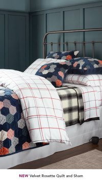 Cotton Quilts and Coverlets, Pillow Shams