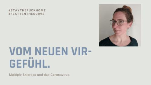 """Blogtitel """"Vom neuen Vir-Gefühl"""""""