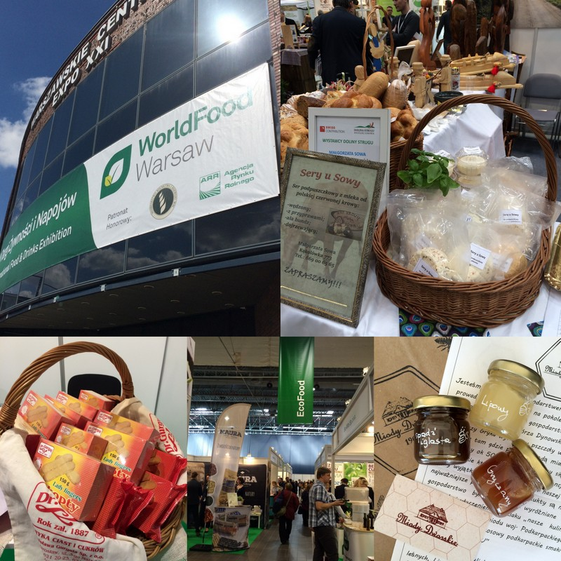 Warszawa 2016: World Food Warsaw i Regionalia