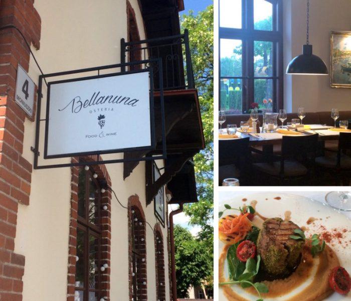 Restauracje podkarpackie cz.2: Osteria Bellanuna, Rzeszów