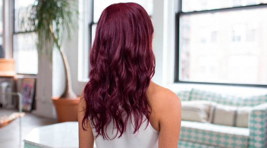 shades of purple hair
