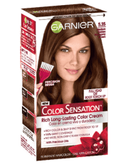 color sensation 5.35 - golden mahogany