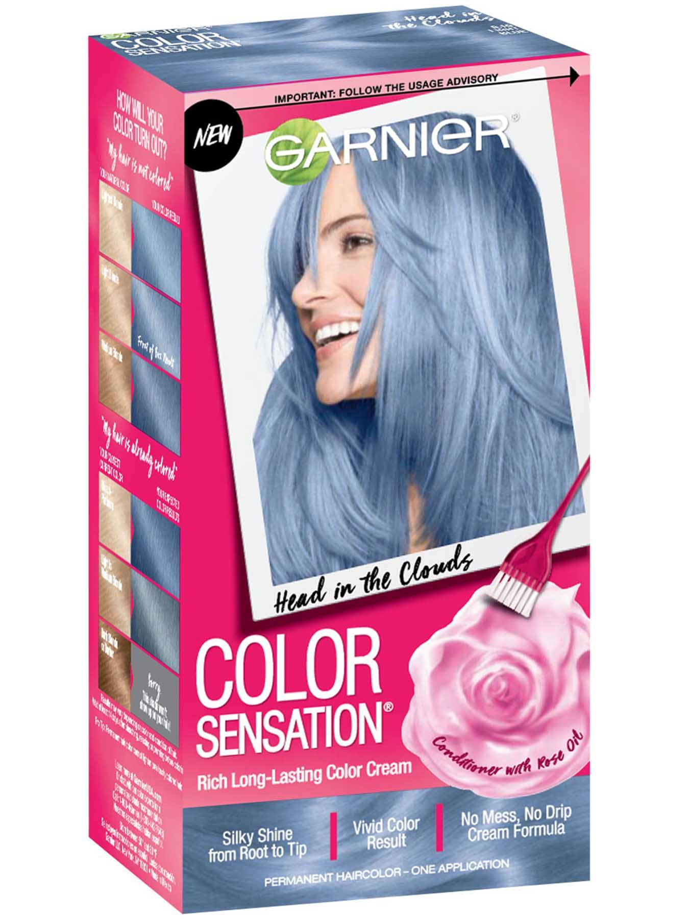 Color Sensation Light Blue Hair Color Head In The Clouds