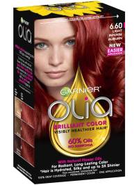 Olia Ammonia-Free Light Intense Auburn Hair Color - Garnier