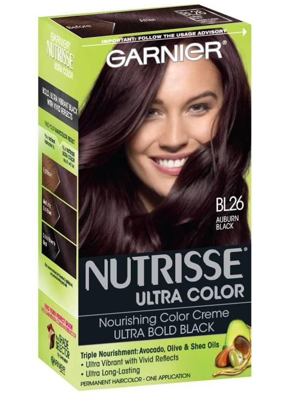 Nutrisse Ultra-color - Reflective Auburn Black Hair Color Garnier