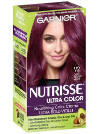 Nutrisse Ultra Color - Dark Intense Violet Hair Color ...