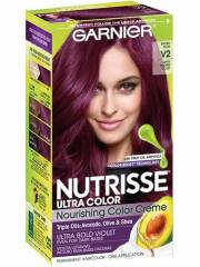 violet hair color - permanent