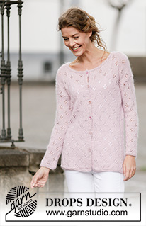 Sweet Bliss Cardigan by DROPS Design