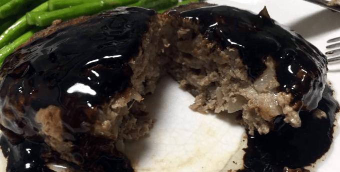 科学的調理法で作る肉汁が出ないハンバーグ