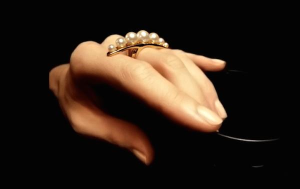 Anel para caricias sexuais