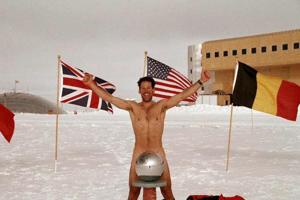 Nude Run, Antártida