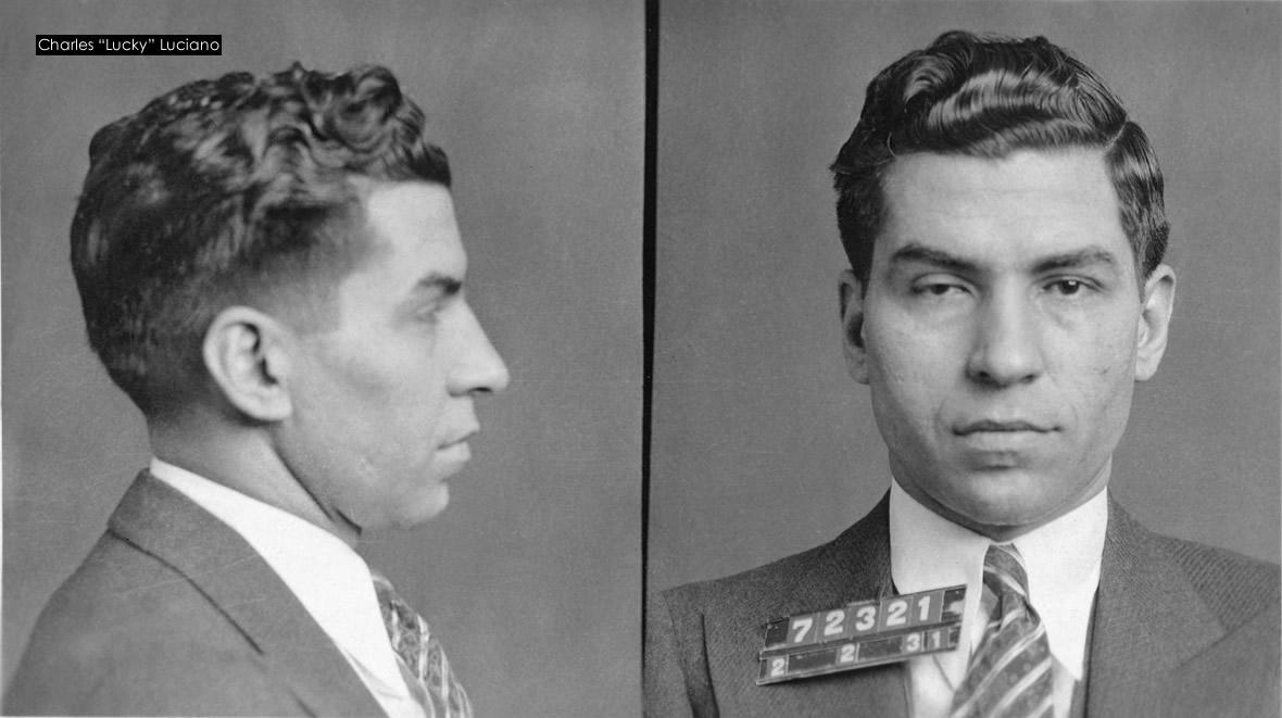 História da Máfia - Charles Lucky Luciano