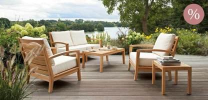 Exklusive Gartenmöbel und Accessoires zu Sonderpreisen   Garpa