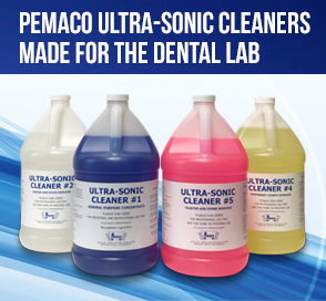 Pemaco Ultra-sonic Cleaners for the Dental Lab