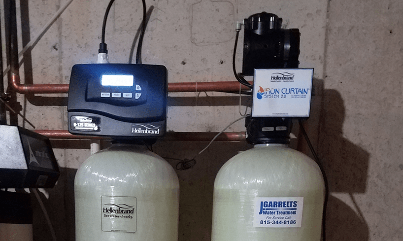 custom iron filter for hydrogen sulfide