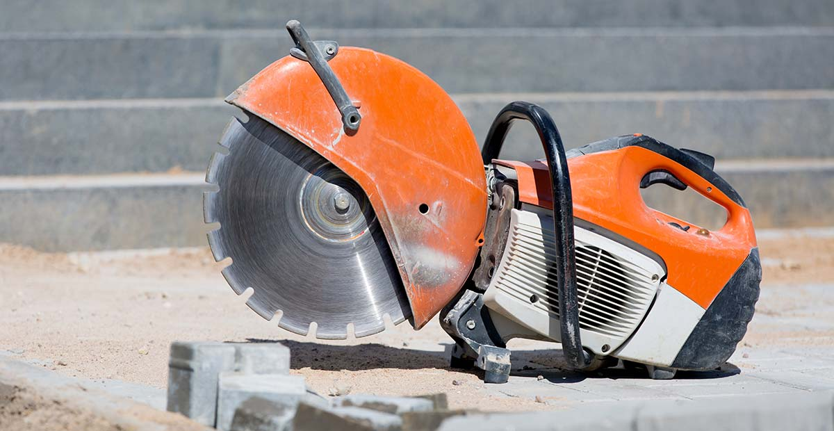 Up-to-Date Concrete Saw