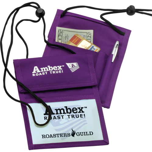 Imported Convention Badge Holder | Promotional Imported ...