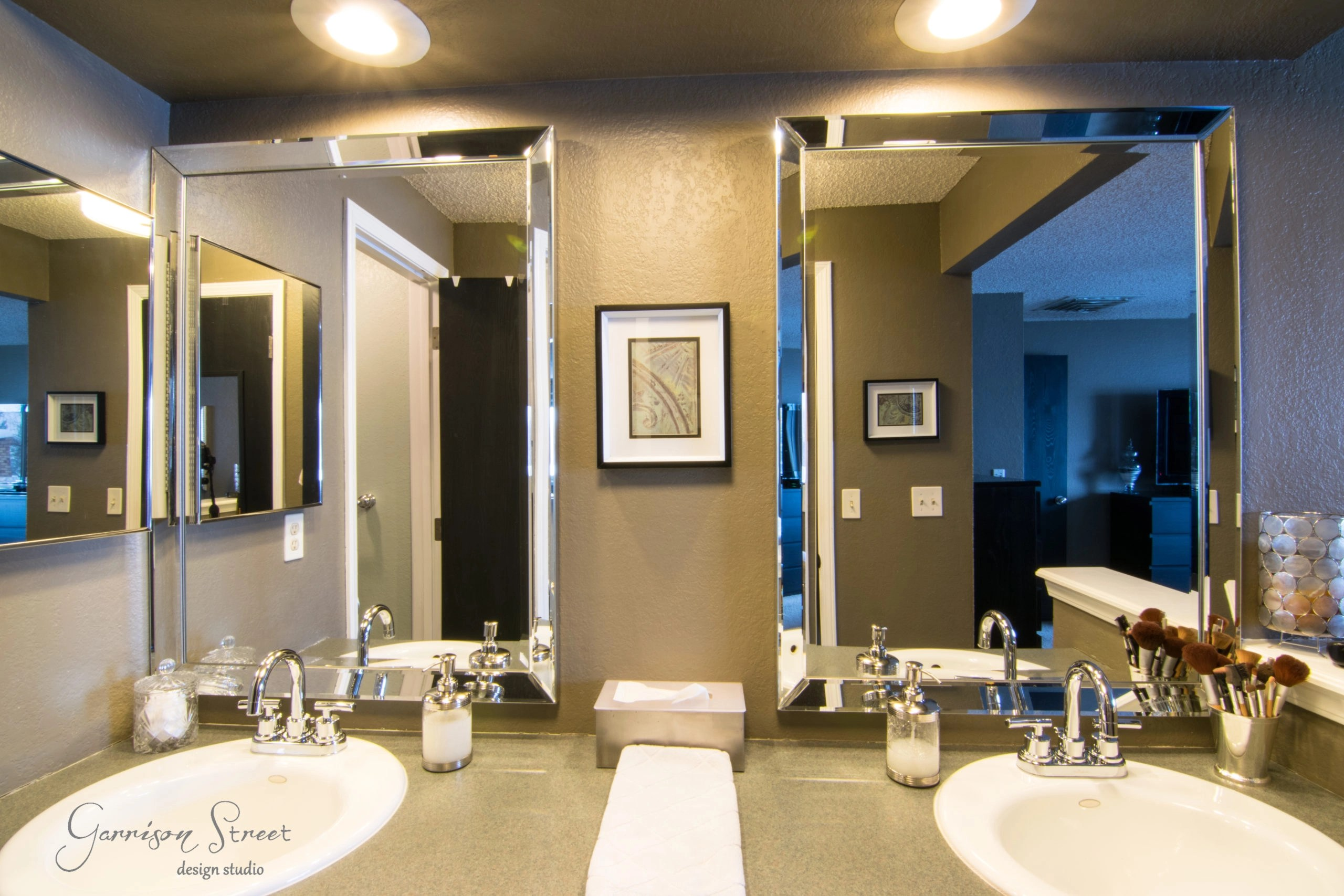A Simple Fix For The Time Being. For Less Than $350 This Bathroom Was  Already An Improvement!