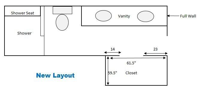 Small Walk-In Closet PAX Big Storage | Garrison Street Design Studio