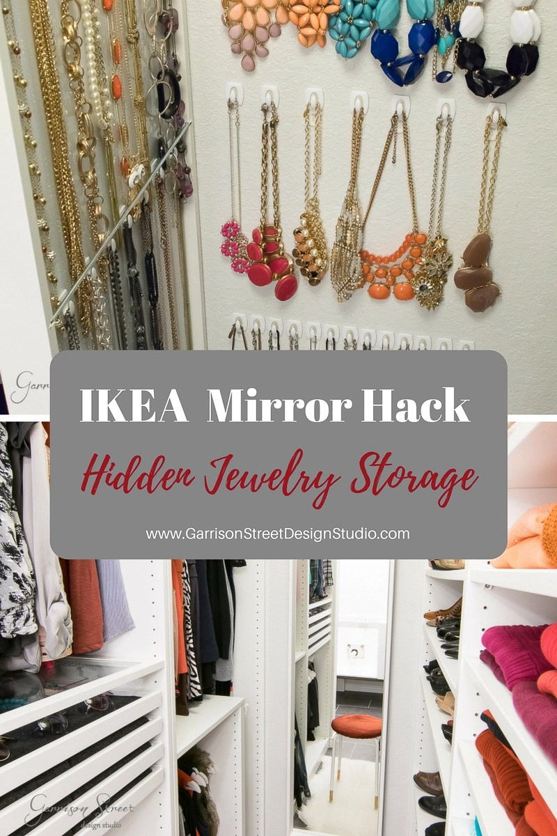 Ikea Mirror Hack | Hidden Jewelry Storage