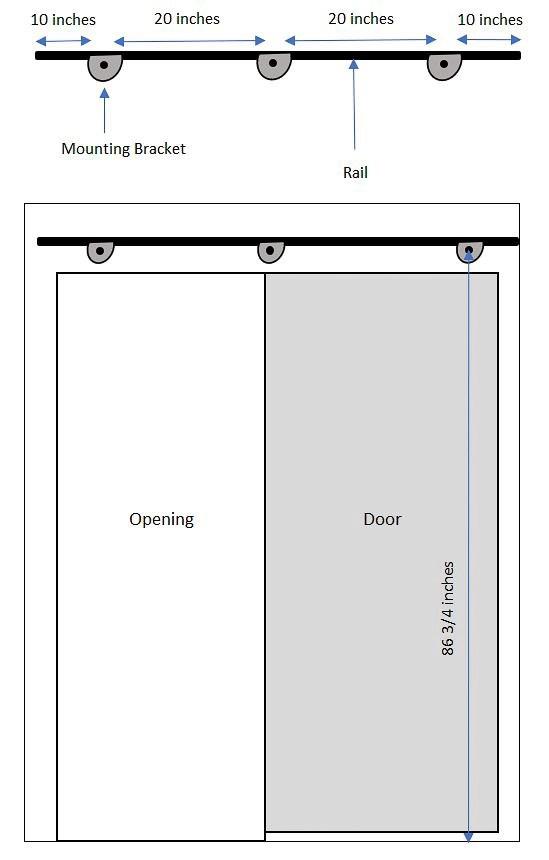 How To Hang A Modern Barn Door Garrison Street Design Studio