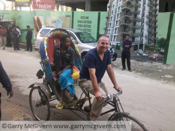 Rickshaw in Dhaka Bangladesh