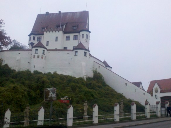Castle in Leipheim, Germany