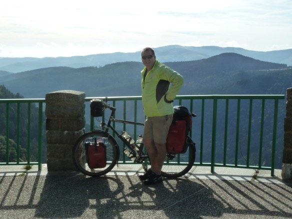 On top of Col de la Schlucht