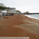 The beach at Ventnor, Isle of Wight
