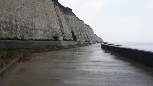 Under cliff path