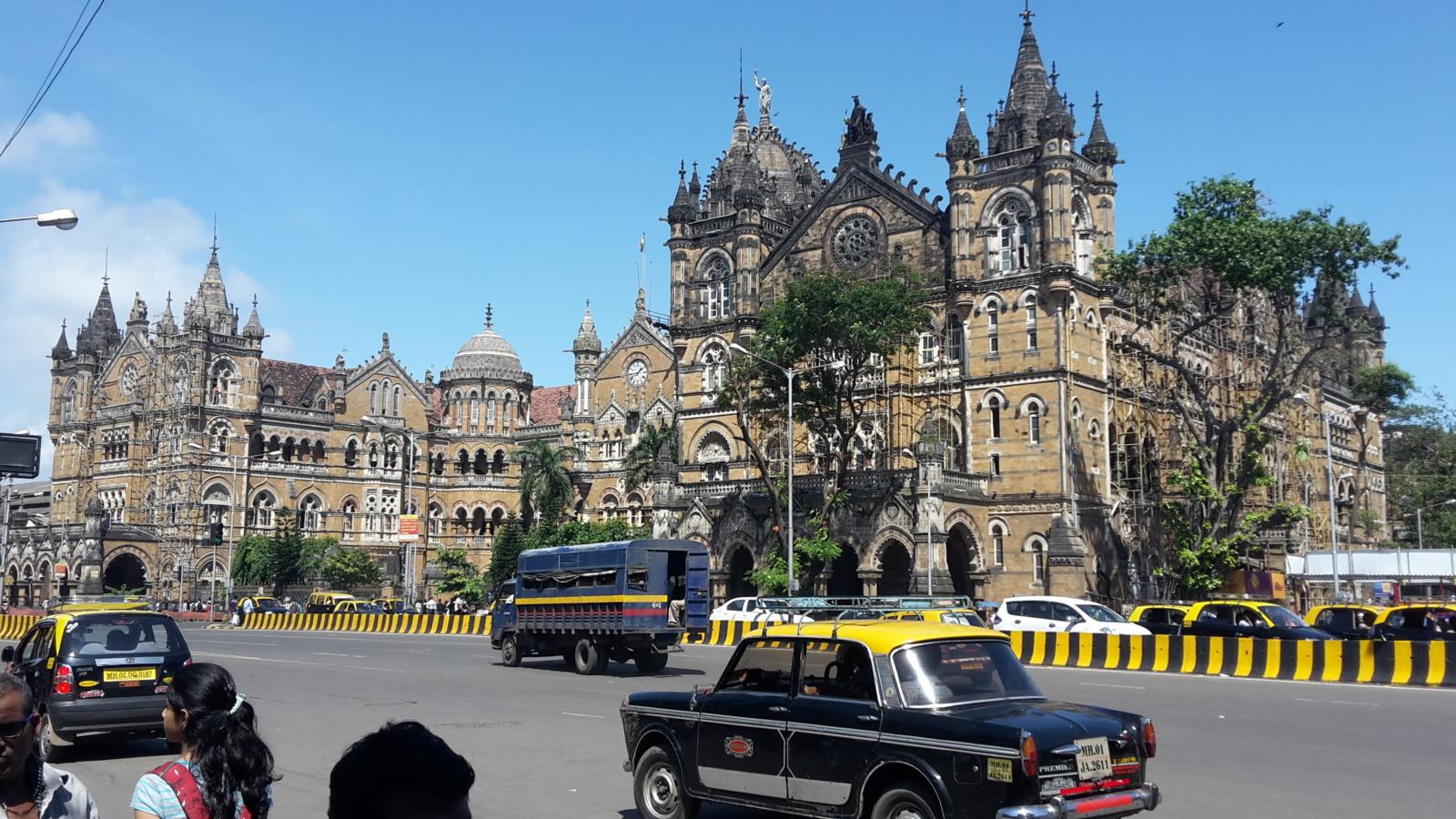 Chhatrapati Shivaji Terminus Mumbai.