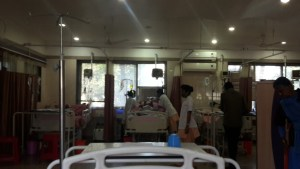 Hospital ward in Dhule