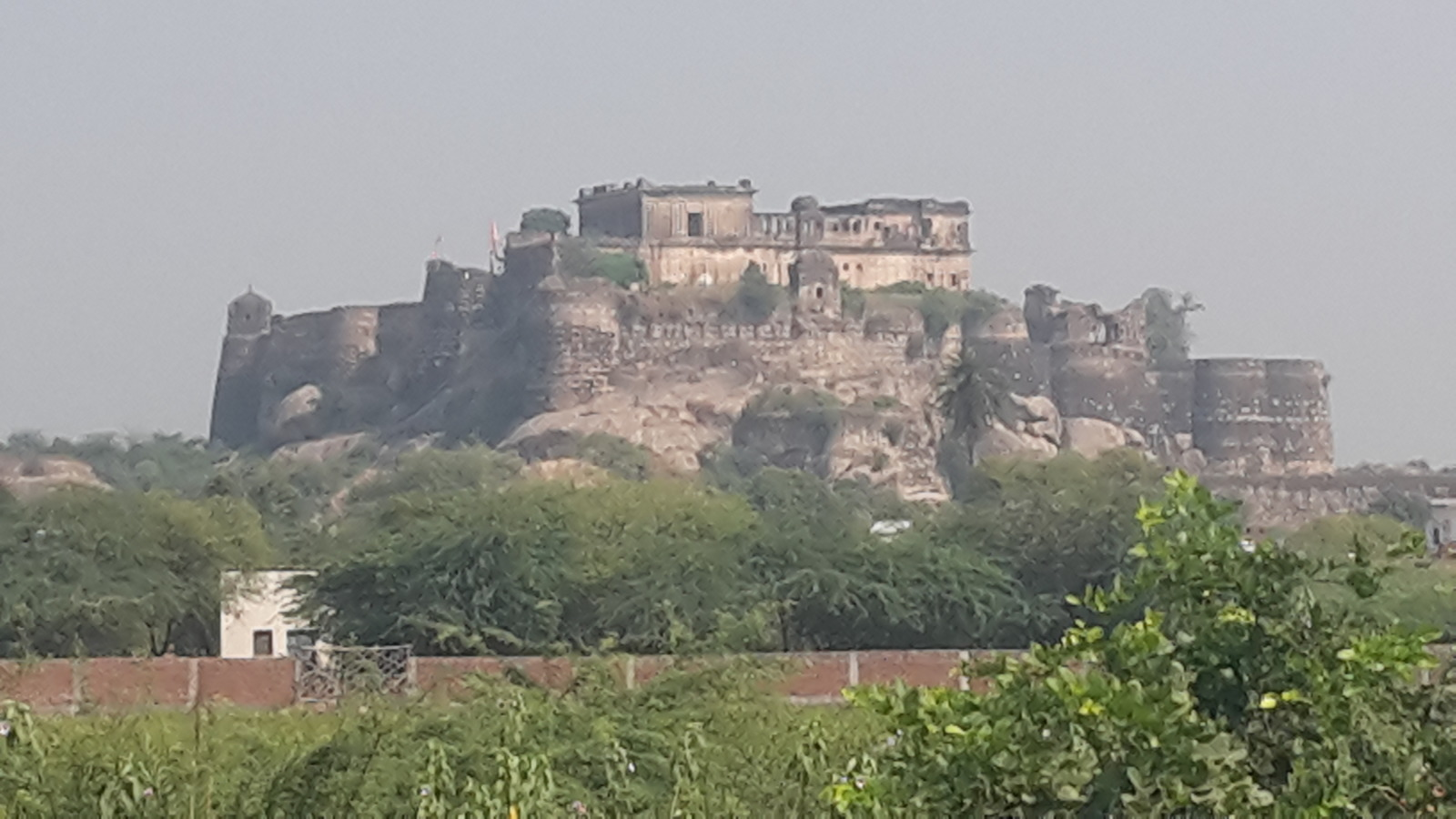 A fort at Amargarh.