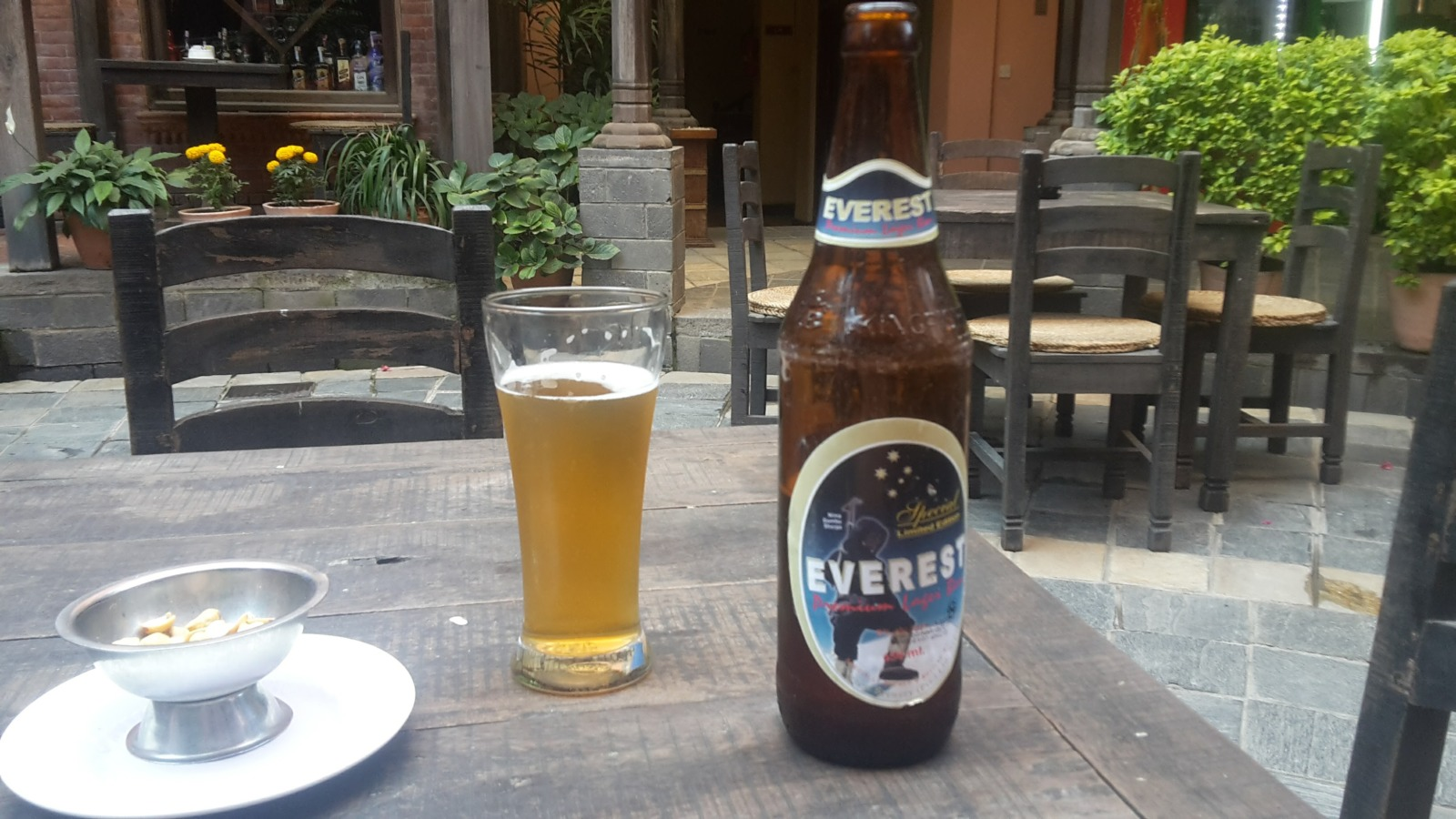 Local beer in Nepal