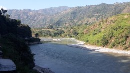 Another view of the Trishuli river.