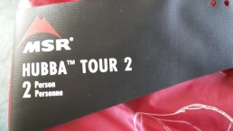 MSR Hubba Tour 2 bag