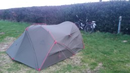 Campsite on the Isle of Wight