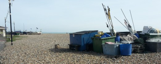 Lobster pots at Worthing