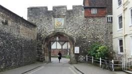 St Swithun street Winchester